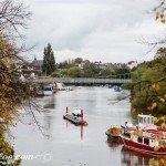 River Dee Boats Postcard