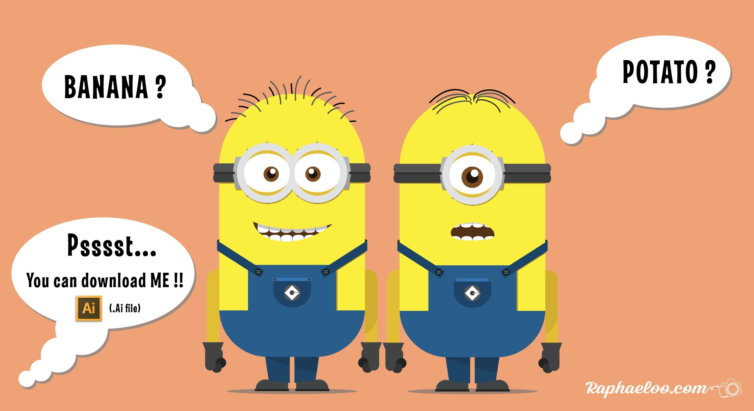 Minions Adobe Illustrator Project Download