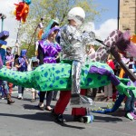 Hebden Bridge Handmade Parade 2015 - Dinosaur
