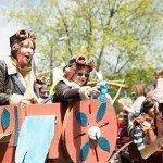 Hebden Bridge Handmade Parade 2015 - Fight