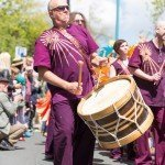 Hebden Bridge Handmade Parade 2015 - Drums