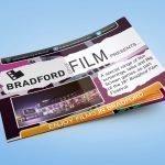 Bradford City of Film - Brochure Design Front