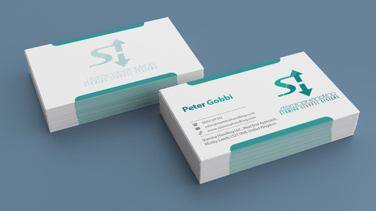 Stamina Handling - Business Card Designs