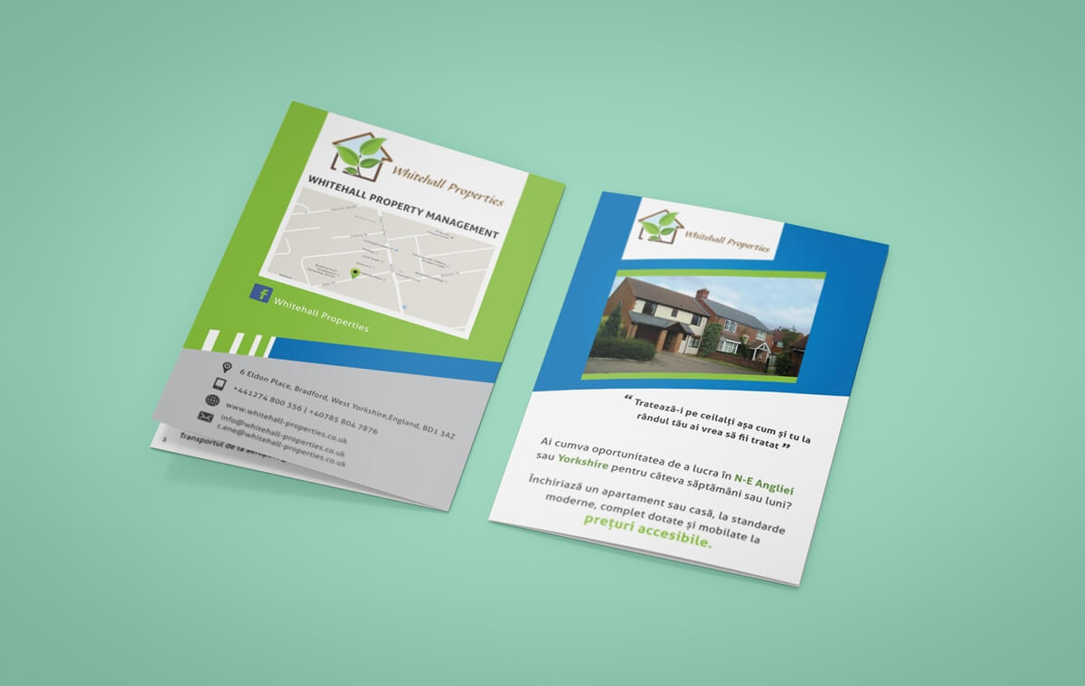 Whitehall Properties - Brochure Front & Back