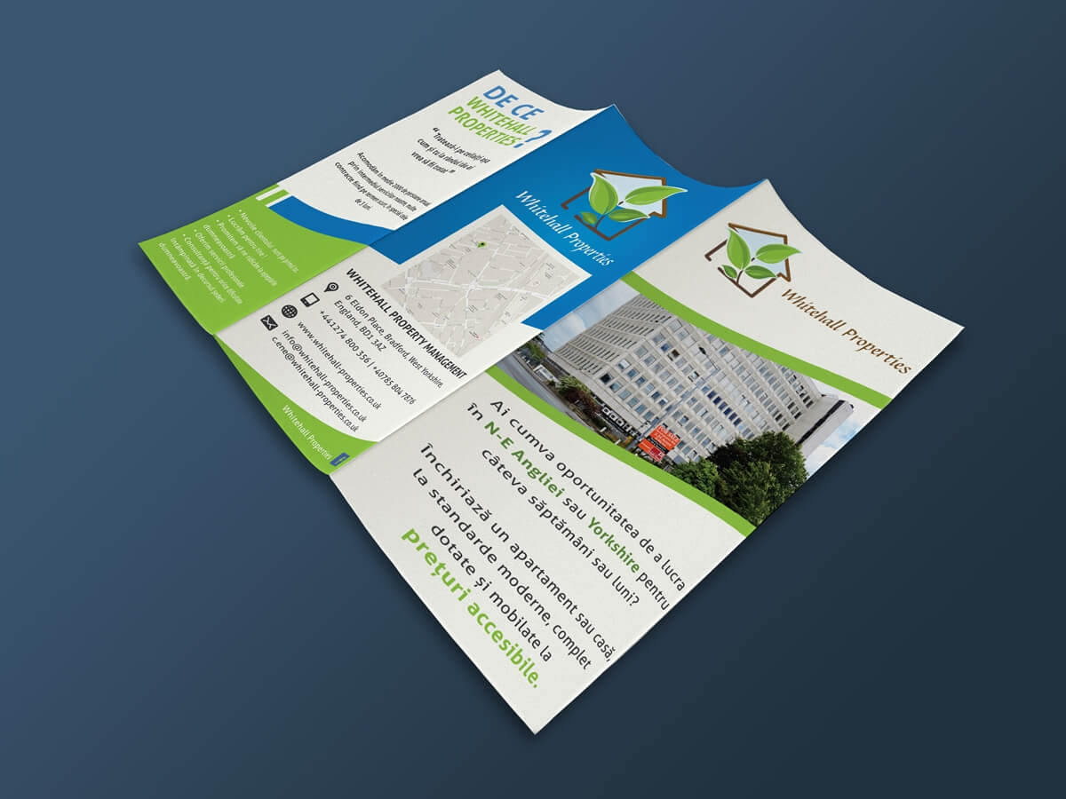 Whitehall Properties - Exterior Leaflet