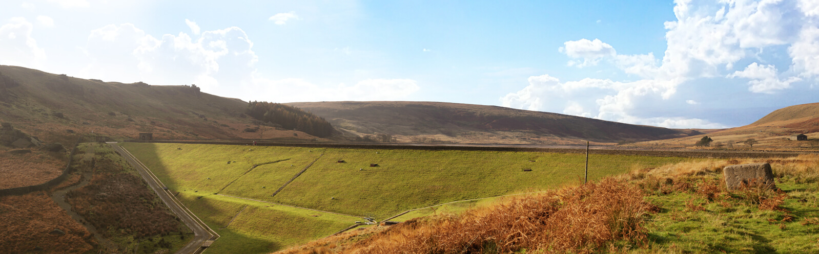 Yorkshire Widdop Reservoir Panorama