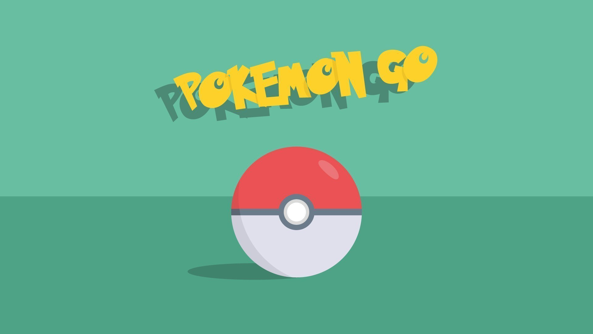 Pokemon Go Ball Illustration Wallpaper