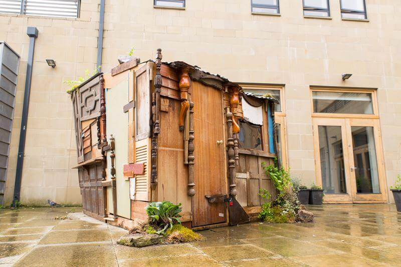 Insidehouse by Hillary Jack - Hebden Bridge Arts Festival 2016