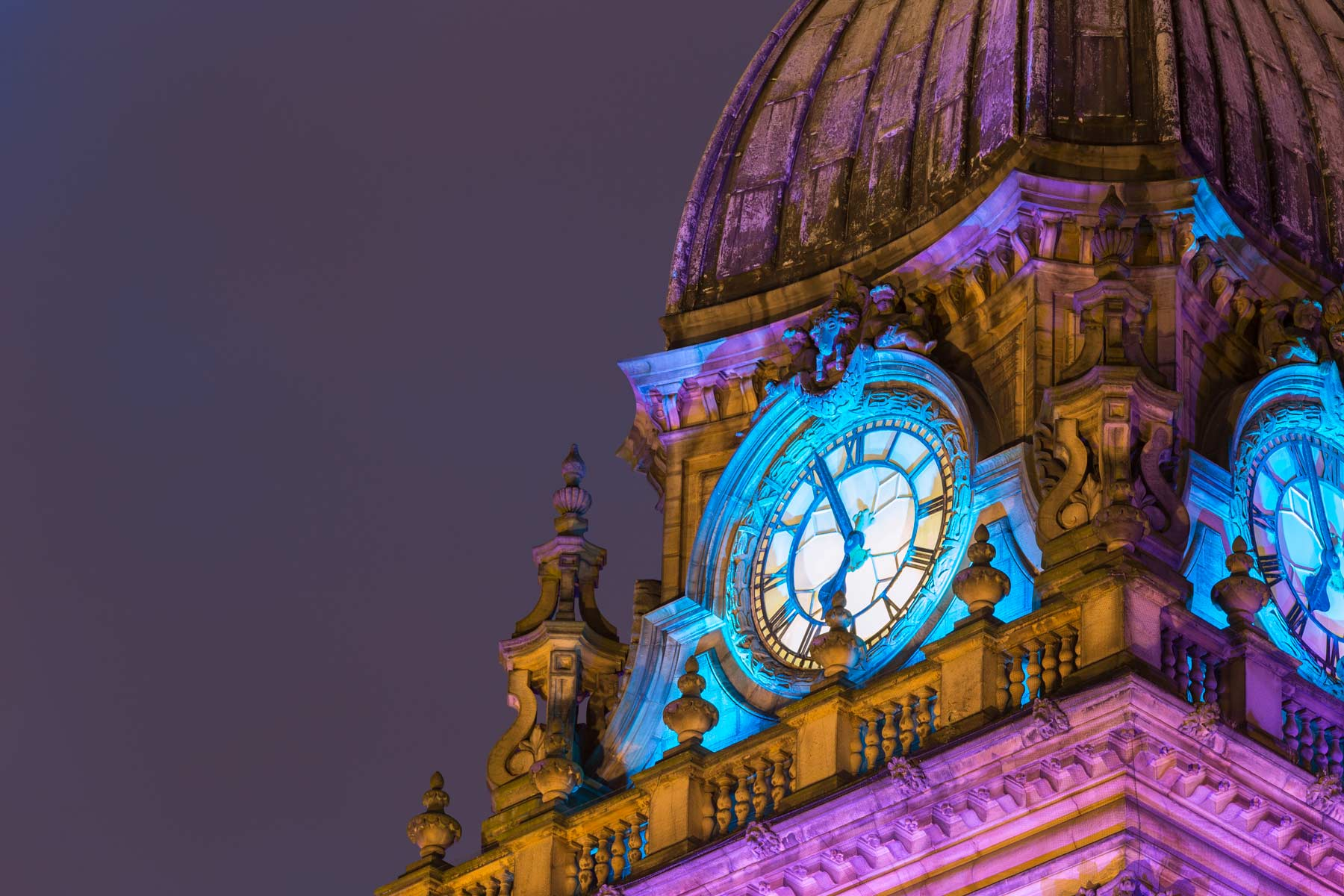 Leeds City Hall Clock