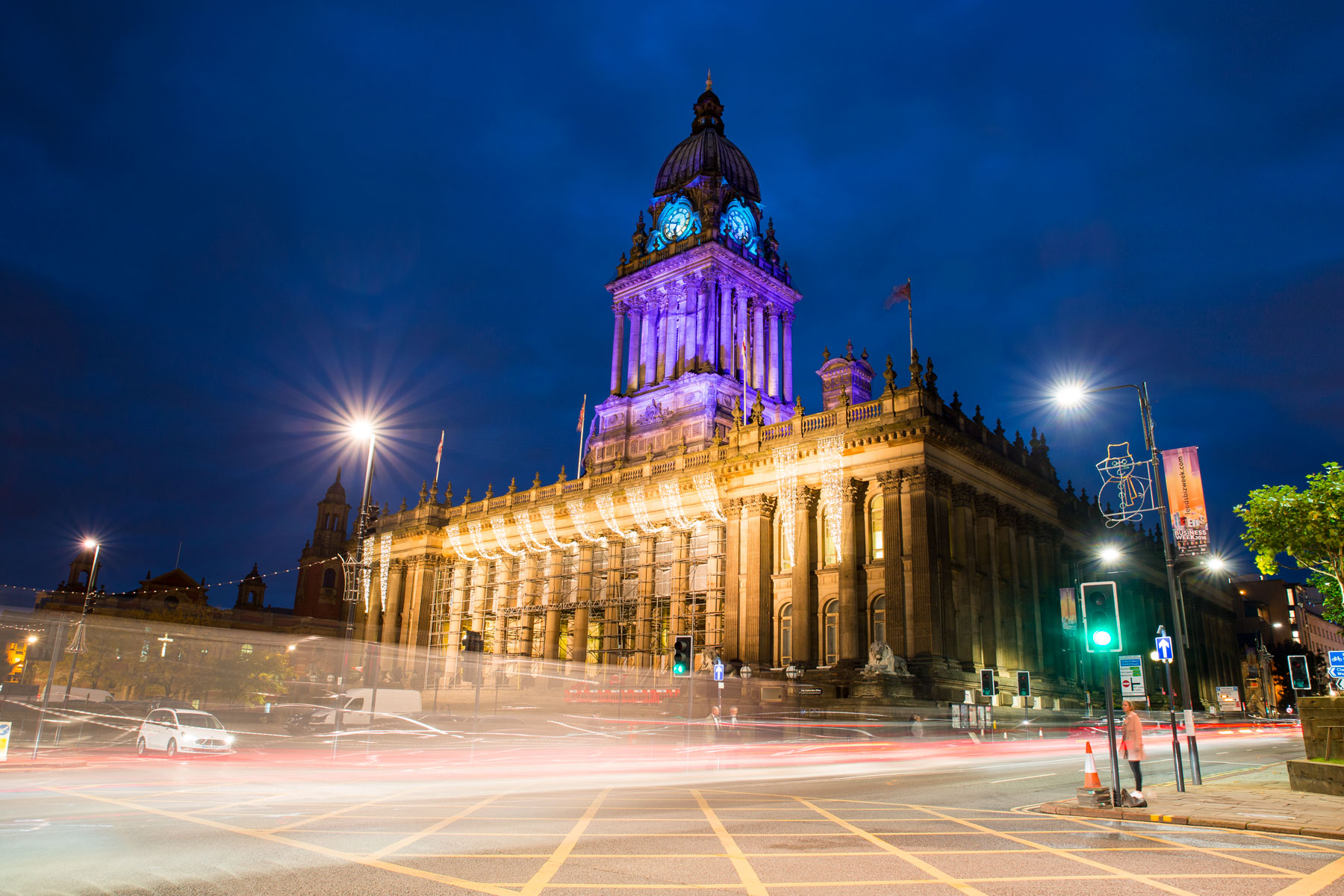 Leeds City Hall at Night
