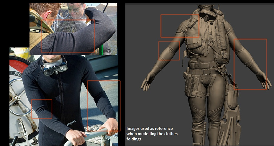Diver image references example