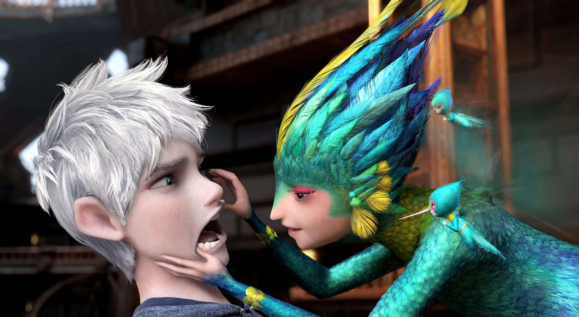 Dreamworks Rise of the Guardians