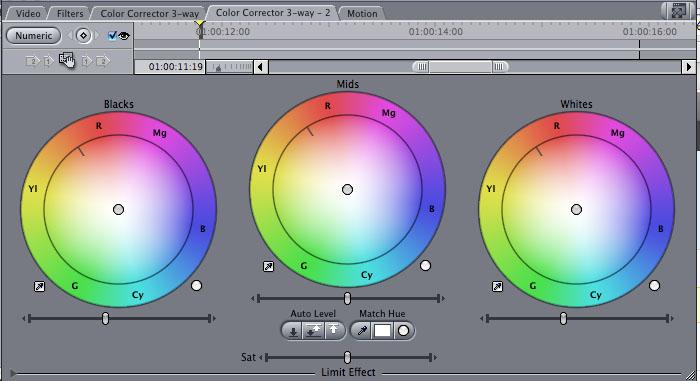 Final Cut Pro Color Correction