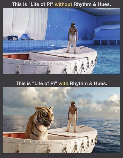 Life of Pi Special Effects VFX